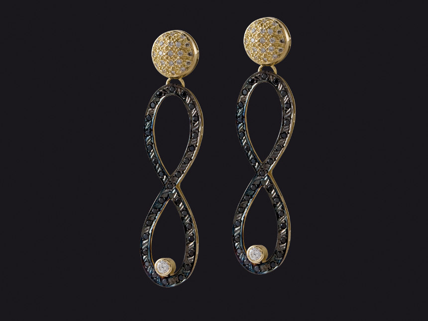 Earrings E10